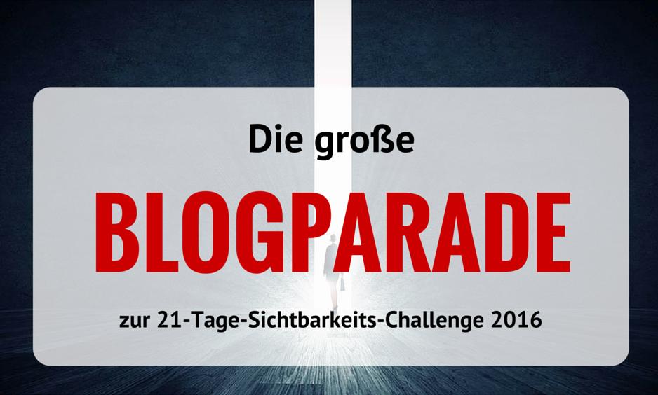 Blogparade Challenge