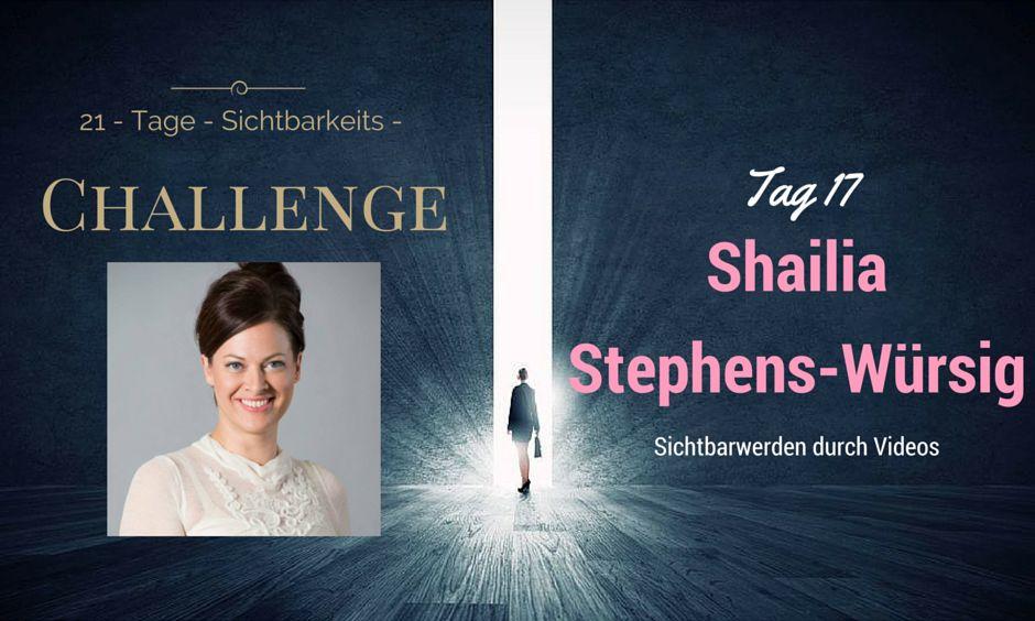 Challenge Tag 17 Shailia Stephens-Würsig