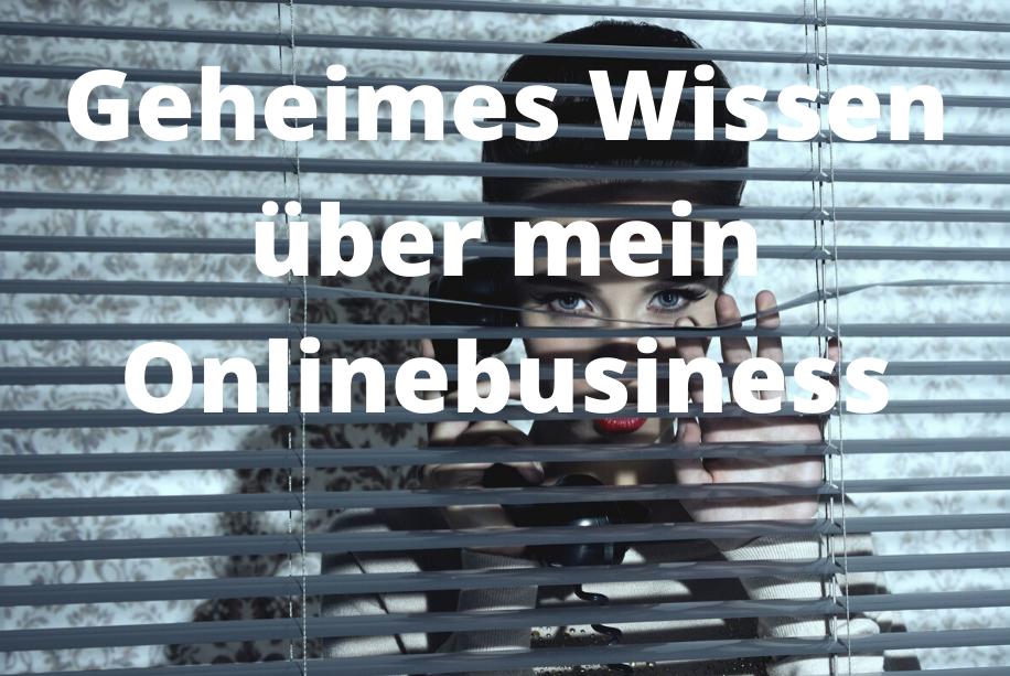 onlinebusiness aufbauen